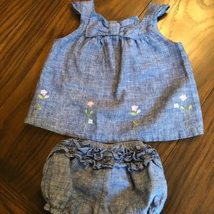 Janie and jack baby girl romper